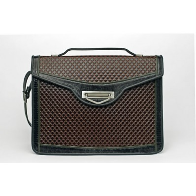 Malibu - Business Cases - Brown Quilt, Black And Olive