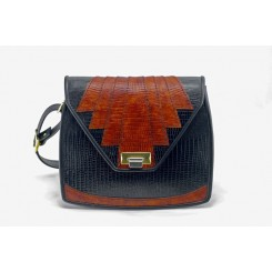 Aztec - Medium - Black And Cedar Burma