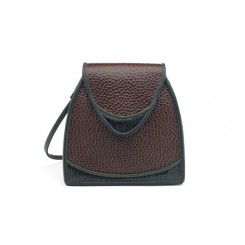 Bodega - Small - Brown Emu, Black And Olive