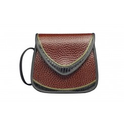 Basia - Small - Brown Emu, Black and Olive