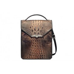Greg's Bag - iPad - Bronze Croc