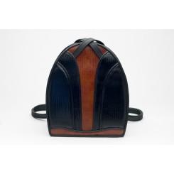 Monterey Backpack/Tote - iPad - Black And Cedar Burma