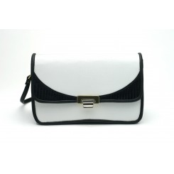 Waverly - Medium - White And Black Burma