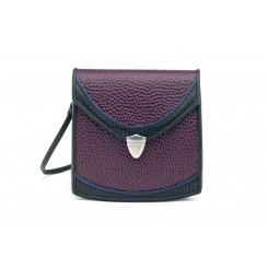 Berkeley - Small - Aubergine Emu, Black And Sapphire