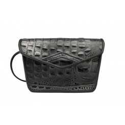 Marin - Small - Black/Silver Croc