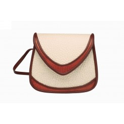 Basia - Small - Linen Emu And Cedar