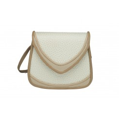 Basia - Small - Linen Emu And Tan